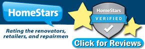 Read Customer Testimonials on HomeStars
